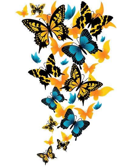 (l) papillon (l)