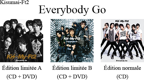 『Kis-My-Ft2's 1st single ♫ Everybody Go → 10.08.2011』