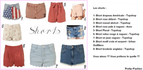 Spéc' Short ♥ !
