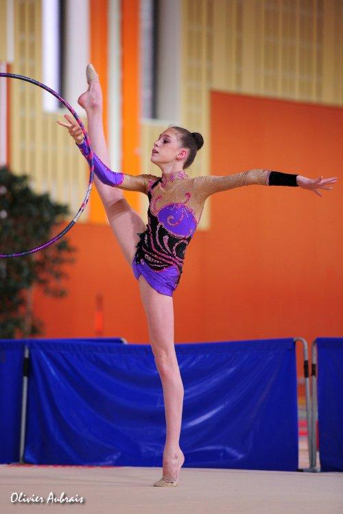 6111. Chpt de France Juniors : Susie Quéru (Calais), 16ème : 37,850 pts