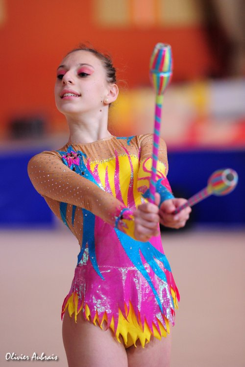 6112. Chpt de France Juniors : Léa Garcia (Nice), 15ème : 38,050 pts