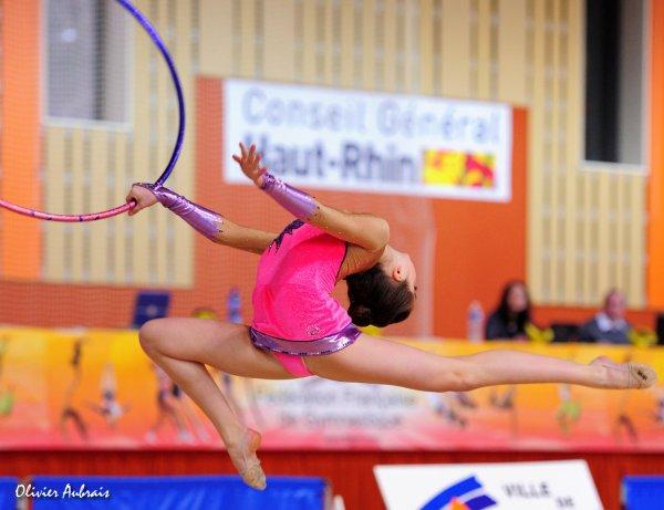 6113. Chpt de France Juniors : Lauriane Marchandin (Orléans), 14ème : 38,050 pts