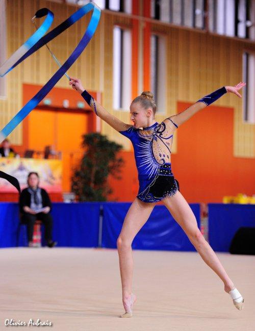 6114. Chpt de France Juniors : Laura Seys (Créteil / pôle d'Evry), 13ème : 40,100 pts