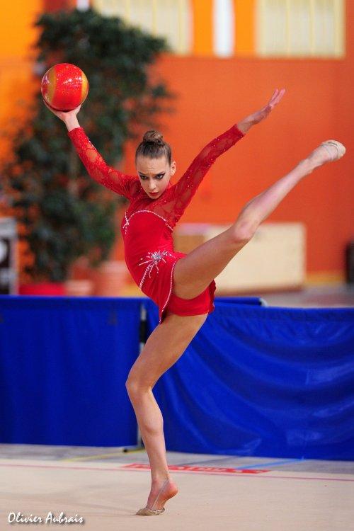 6115. Chpt de France Juniors : Aurore Dubois (Evry), 12ème : 40,200 pts