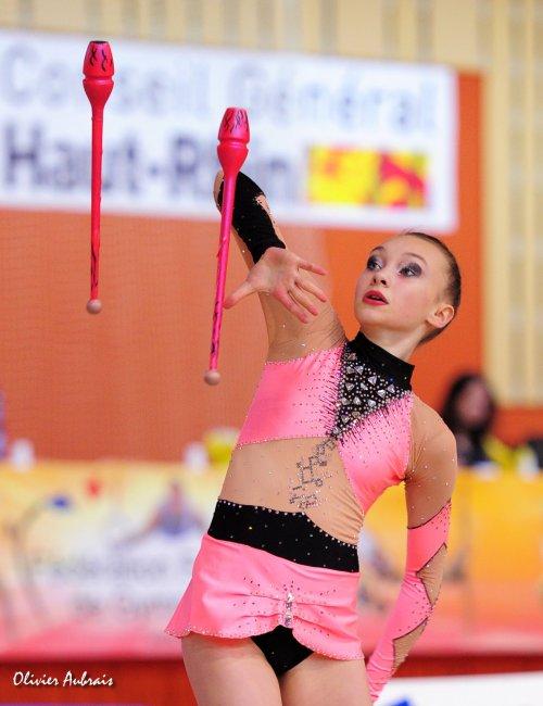 6116. Chpt de France Juniors : Morganne Disdero (Paris centre / pôle d'Evry), 11ème : 40,750 pts
