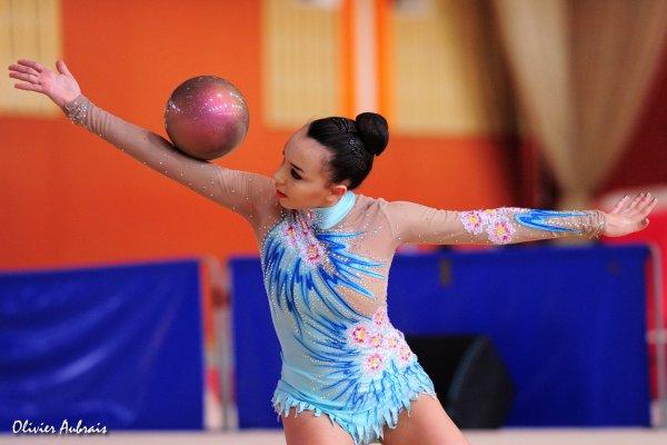 6117. Chpt de France Juniors : Lina Beauguitte (Strasbourg), 10ème : 41,100 pts