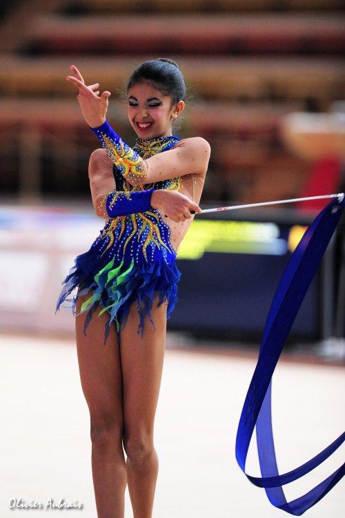 6119. Chpt de France Juniors : Basma El Yazad (Thiais / pôle d'Evry), 9ème : 42,700 pts