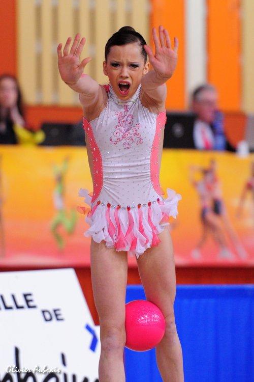 6121. Chpt de France Juniors : Marie-Lou Lagrange (Montpellier), 7ème : 44,250 pts