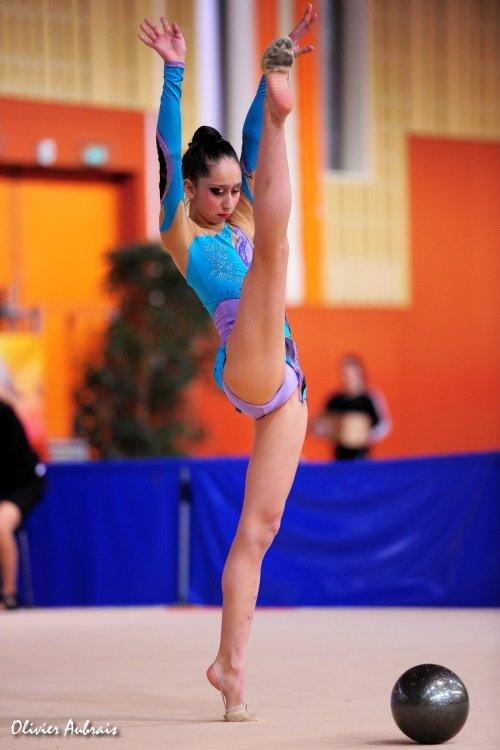 6123. Chpt de France Juniors : Solène Djafri (Evry), 5ème : 45,750 pts