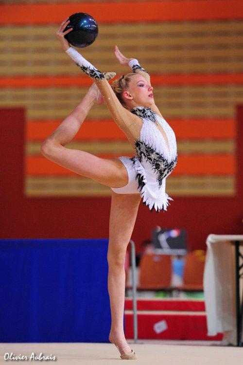 6126. Chpt de France Juniors : Astrid-Appoline Rabette (NRGym / pôle de Calais), 2ème : 48,650 pts