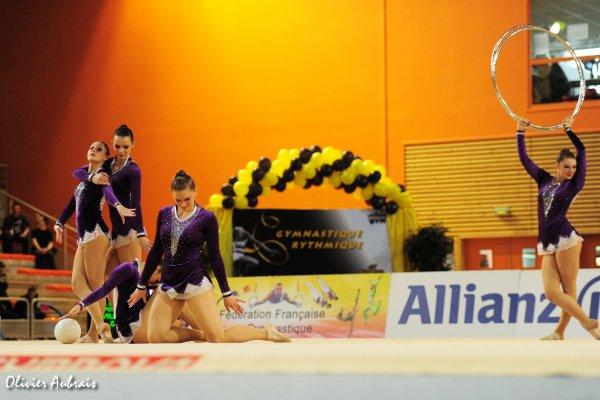 6183. Championnat de France DN : Villeneuve d'Ascq (DN2), 9ème, 78,625 pts