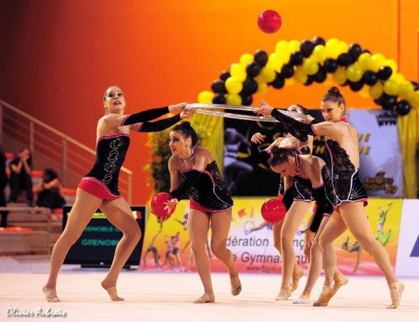 6188. Championnat de France DN : Grenoble (DN2), 13ème, 77,675 pts