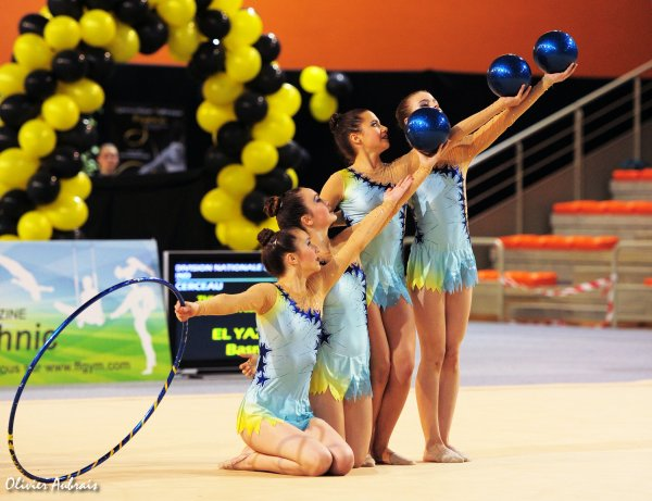 6204. Championnat de France DN : Bourgoin-Jallieu (DN2), 27ème, 69,275 pts