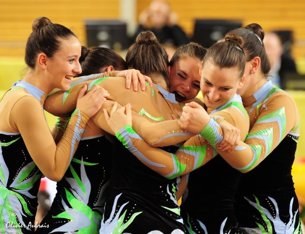 6245. Championnat de France DF1 seniors: Aix-en-Provence, 1er, 21,300 pts