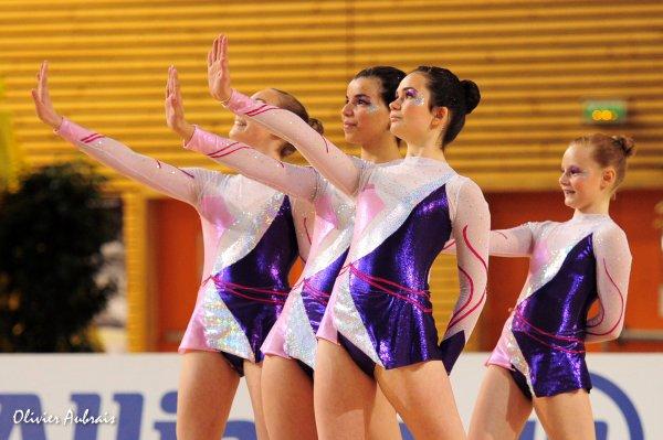 6261. Championnat de France DF1 cadettes : Tourcoing, 24ème, 10,000 pts