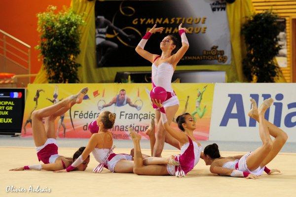 6268. Championnat de France DF1 cadettes : Toulouse, 9ème, 17,300 pt