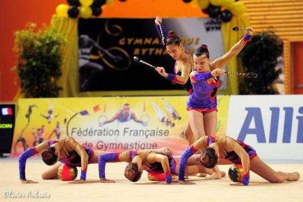 6269. Championnat de France DF1 cadettes : Sollies, 8ème, 17,550 pt