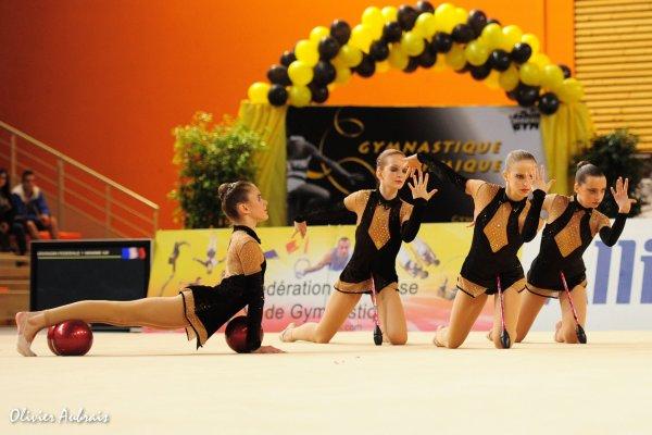 6271. Championnat de France DF1 cadettes : Chambéry, 3ème, 19,400 pts