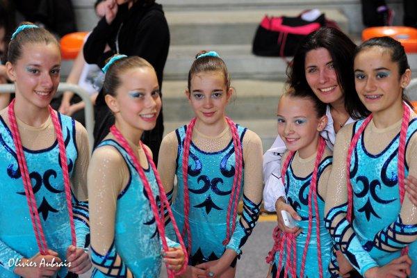 6277. Championnat de France DF1 minimes: Bellegarde sur Valserine, 19ème, 14,950 pts