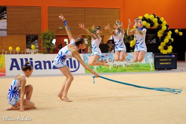 6278. Championnat de France DF1 minimes: St Georges-sur-Eure, 18ème, 15,000 pts
