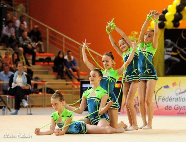 6281. Championnat de France DF1 minimes: Aix-en-Provence, 10ème, 16,850 pts