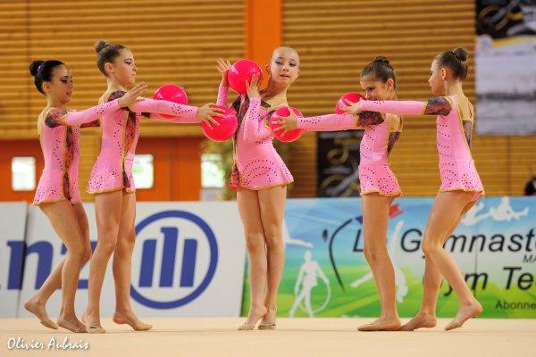 6299. Championnat de France DF1 benjamines : Sucy-en-Brie, 13ème, 14,150 pts
