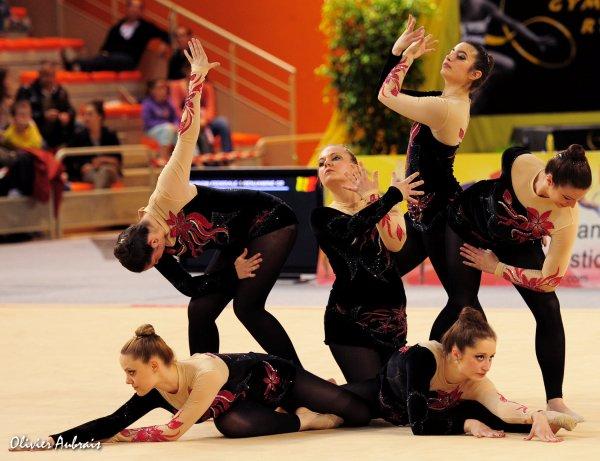 6309. Championnat de France DFE : Besançon, 25ème, 10,600 pts