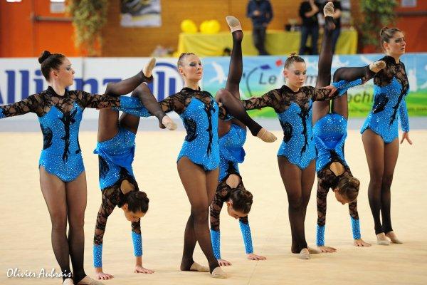 6313. Championnat de France DFE : Elancourt, 20ème, 11,600 pts