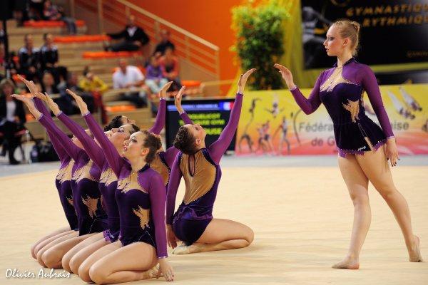 6314. Championnat de France DFE : Petit-Couronne, 19ème, 12,500 pts