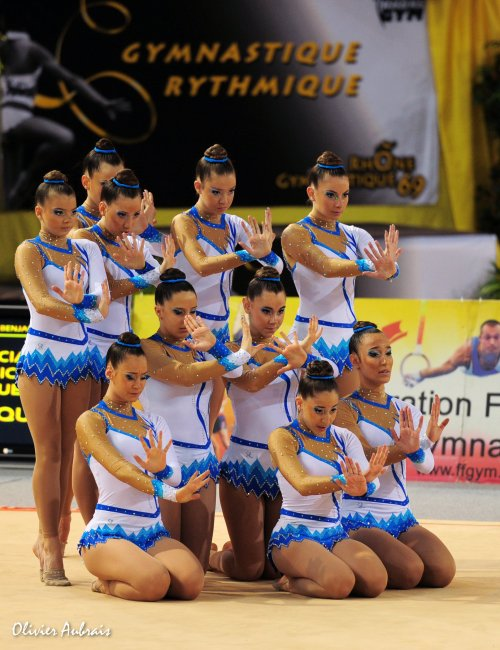 6315. Championnat de France DFE : Béziers, 18ème, 12,950 pts