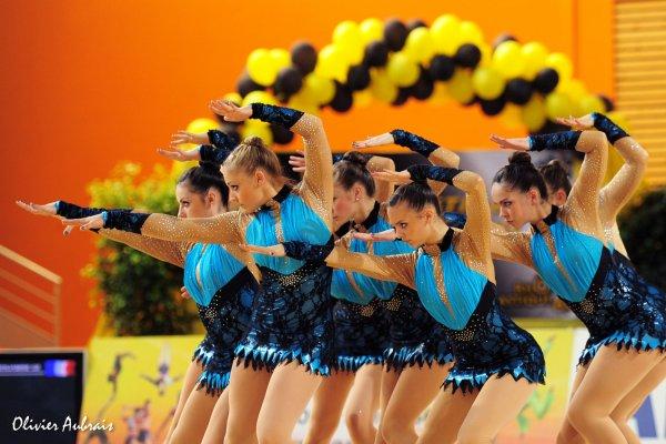 6316. Championnat de France DFE : Blois, 17ème, 13,100 pts