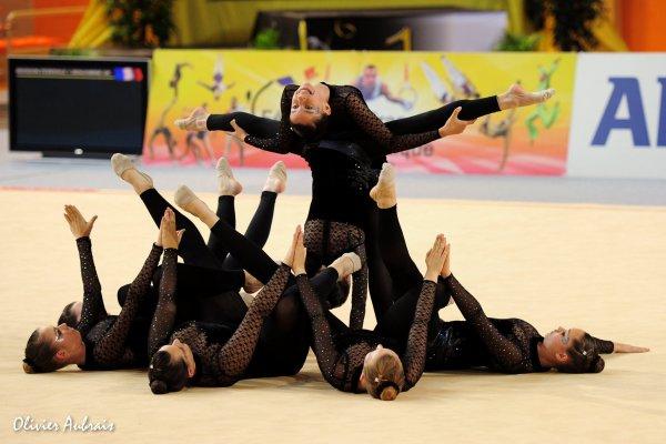 6318. Championnat de France DFE : Odos, 13ème, 13,750 pts