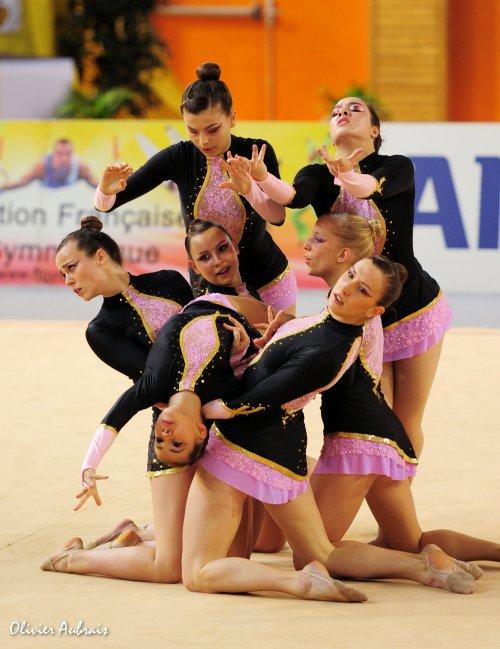 6319. Championnat de France DFE : Romagnat, 11ème, 14,000 pts