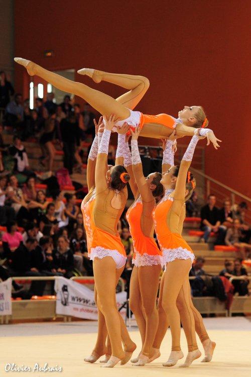 6321. Championnat de France DFE : La Garde, 9ème, 14,650 pts
