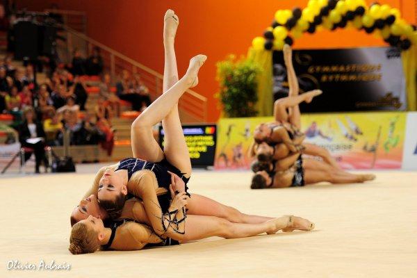 6327. Championnat de France DFE : Thionville, 3ème, 16,550 pts