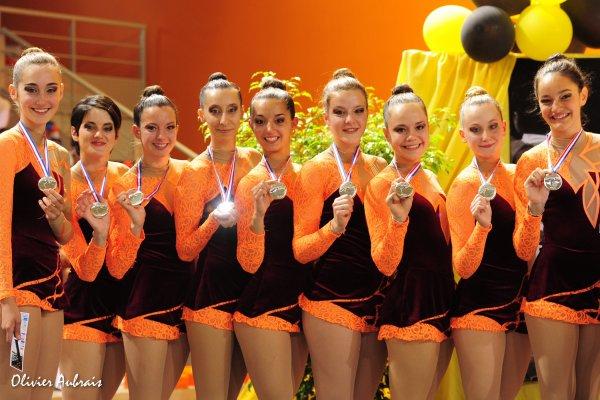 6328. Championnat de France DFE : Aix-en-Provence, 2ème, 17,350 pts