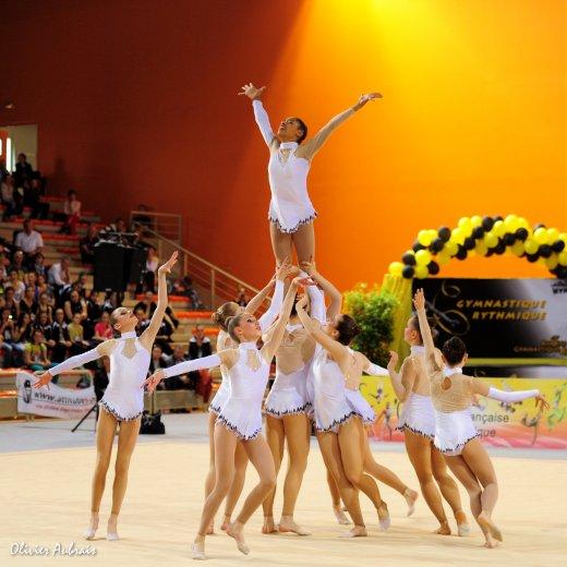 6329. Championnat de France DFE : Chambéry, 1ère, 17,800 pts
