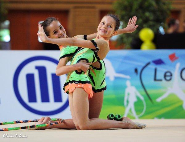 6337. Championnat de France DF2 benja-minimes : Holtzheim, 15ème, 15,450 pts