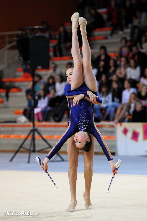 6339. Championnat de France DF2 benja-minimes : Caen, 11ème, 15,950 pts