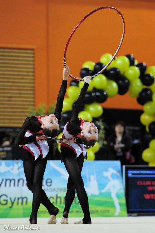 6343. Championnat de France DF2 benja-minimes : Louhans, 4ème, 16,600 pts