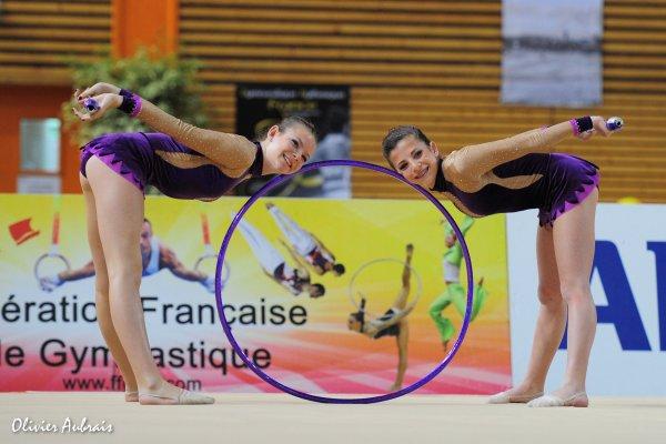 6345. Championnat de France DF2 benja-minimes : St Laurent-du-Var, 3ème, 17,300 pts