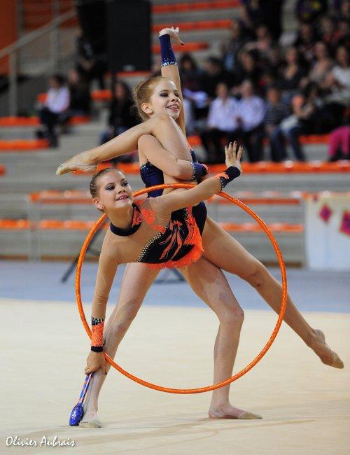 6347. Championnat de France DF2 benja-minimes : Thionville, 1er, 18,650 pts