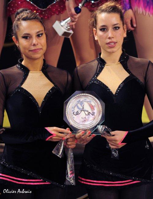 6361. Championnat de France DF2 toutes catégories: St Denis de la Réunion, 4ème, 19,600 pts