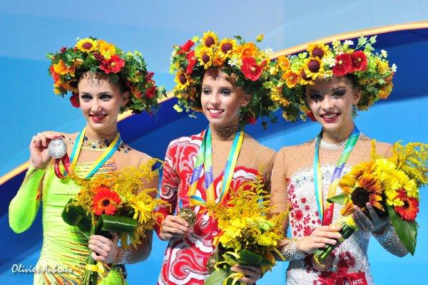 6377. Les championnats du Monde de GR à Kiev, J2 : Ukraine-Russie : 1 à 3