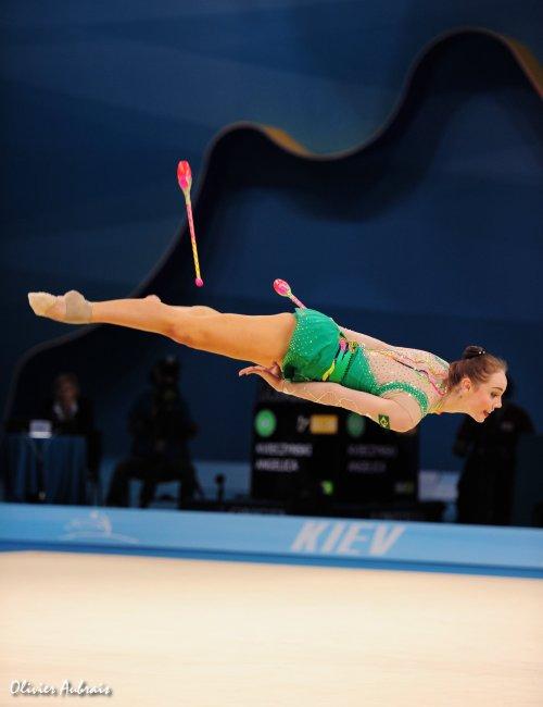 6382. Les championnats du Monde de GR à Kiev : qqes images