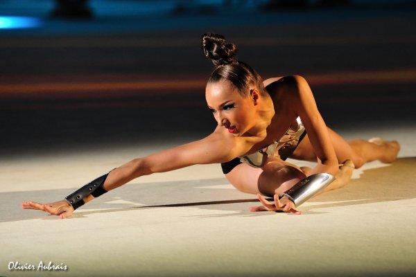 6386. Les championnats du Monde de GR à Kiev : Viktoria Mazur