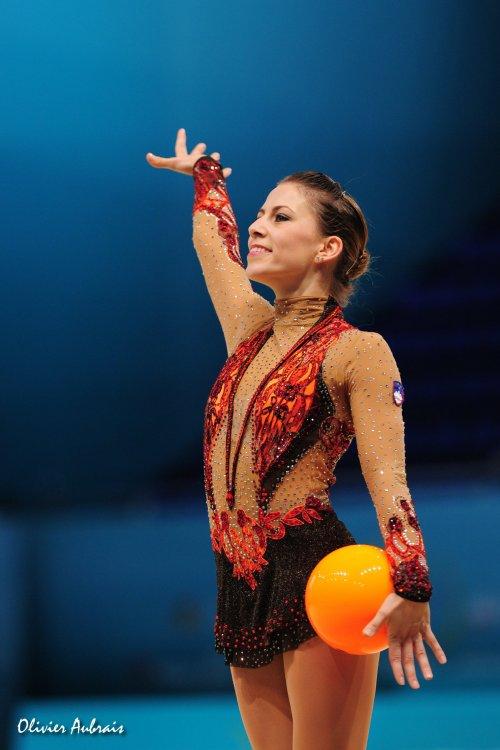 6387. Les championnats du Monde de GR à Kiev : Mojca Rode (Slovénie)