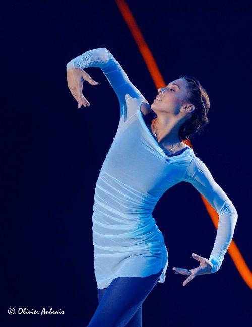 6389. Les championnats du Monde de GR à Kiev : Viktoria Shynkarenko...