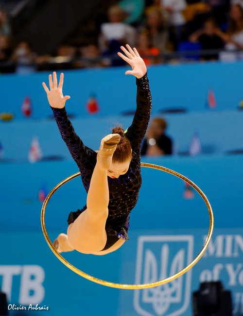 6390. Les championnats du Monde de GR à Kiev : Alina Maksymenko