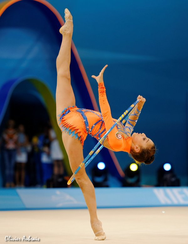 6392. Les championnats du Monde de GR à Kiev : Lala Yusifova (Azerbaidjan)